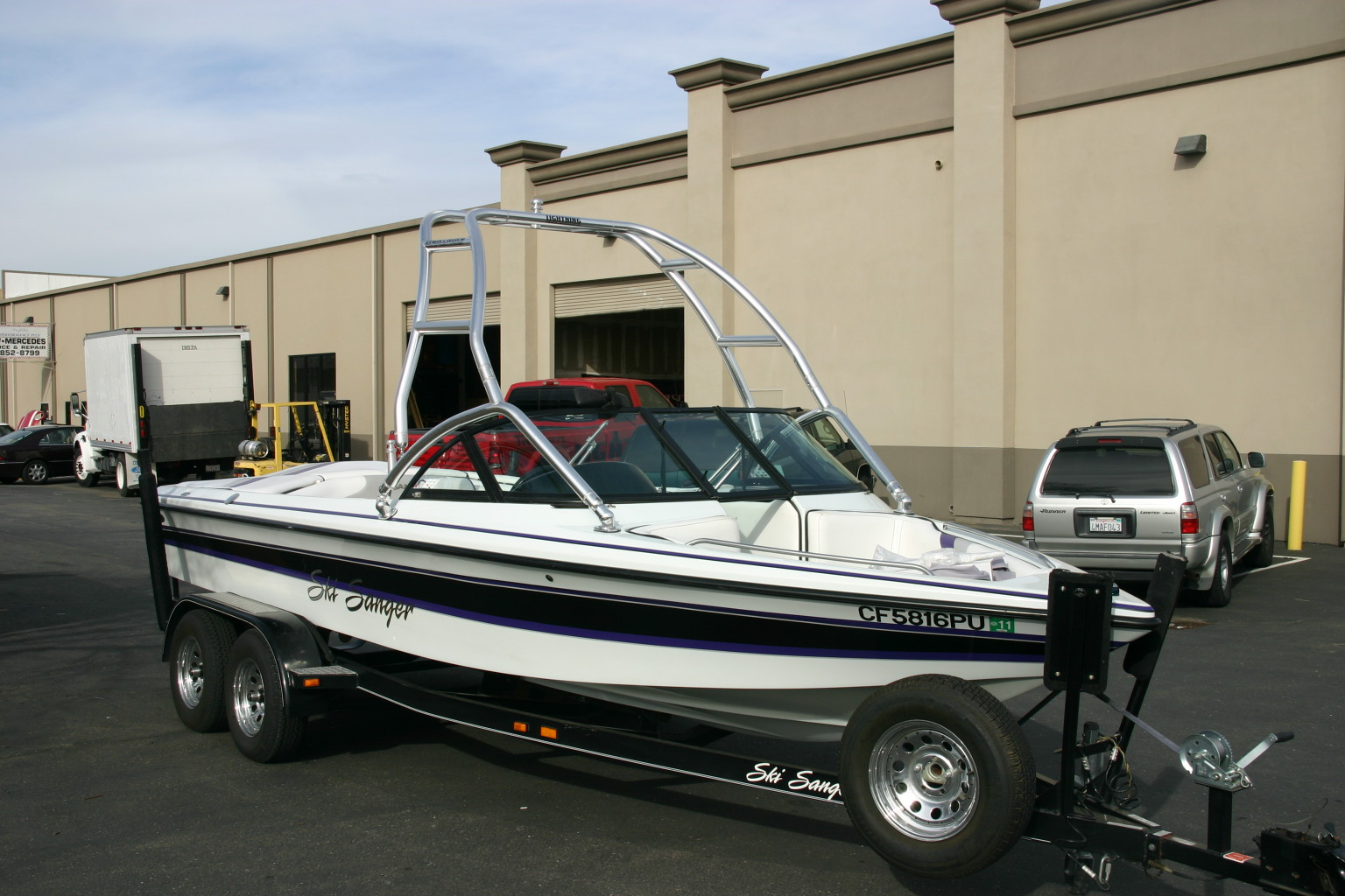 Ski Sanger Tower Lightning Wakeboard Towers And Accessories